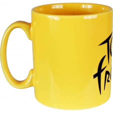 Mug grès coloris jaune