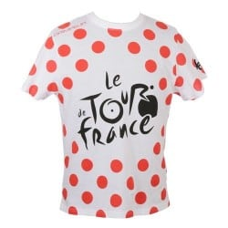 T-shirt logo à pois Tour de France