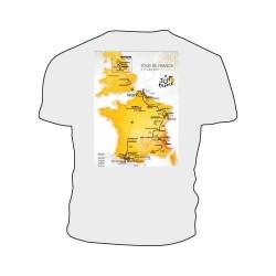 T-shirt parcours Tour de France 2014