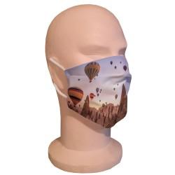 Masque de protection Montgolfières