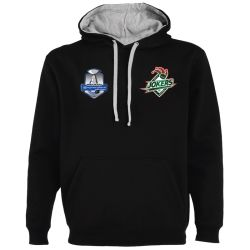 Sweat Unisexe Ligue Magnus Noir Cergy Jokers