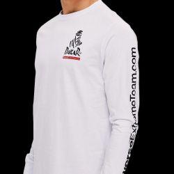 T-Shirt Manches Longues Dakar Lg 03 Blanc
