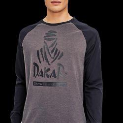 T-Shirt Manches Longues Dakar Lg 04 Noir Graphite