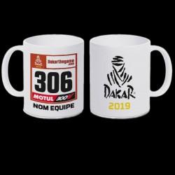Mug Dakar Dossard 2019