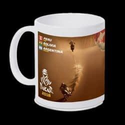 Mug parcours Rallye Dakar 2018