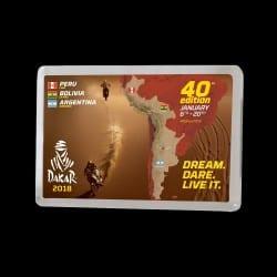 Magnet parcours Rallye Raid Dakar 2018
