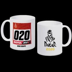 Mug Dakar Dossard 2020