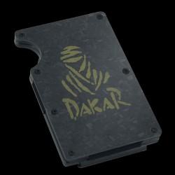 Porte carte REBELLION en carbone forgé - Edition spéciale DAKAR