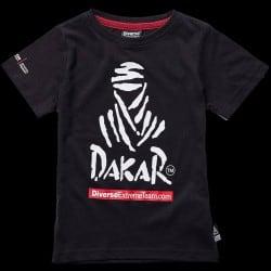 T-shirt enfant logo Dakar noir