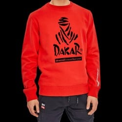 Sweat Dakar Basic Crew Rouge