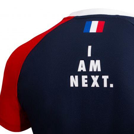 T-shirt D'entrainement Officiel BLEU Equipe de Francre