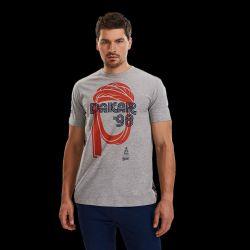 T shirt GRIS Turban Vintage 98