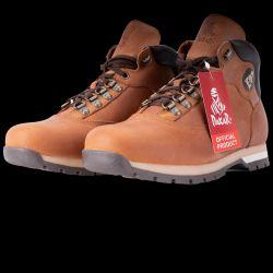 Chaussure de Randonnees Premium en cuir et doublure microfibre  MARRON BRUN