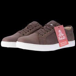 Chaussure Sneakers en cuir  MARRON FONCE