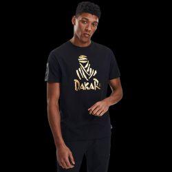 T shirt NOIR VIP Logo Nomade Or 2021