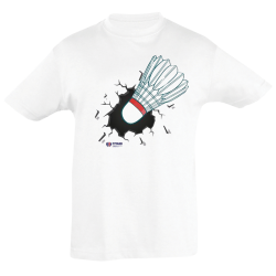 T shirt Enfant BLANC Crash