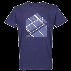 T-shirt BLEU Lithographie