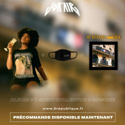 Pack Jokair VIe République : CD + T-shirt + Masque