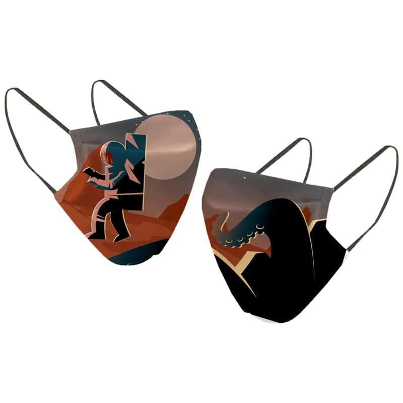 Masque KID Astronaute ORANGE