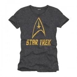 T-shirt STAR TREK - logo