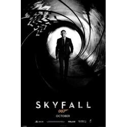 Affiche film SKYFALL James...