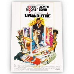 Affiche film Live and Let...