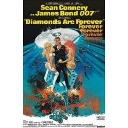 Affiche film Diamonds are...