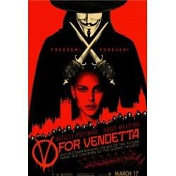 Affiche film V pour Vendetta