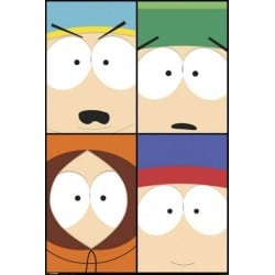 Affiche South Park close up