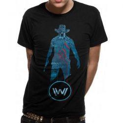 WESTWORLD   BLUE MAN T SHIRT
