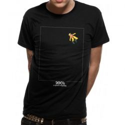 2001 SPACE ODYSSEY   FLOATING IN SPACE T SHIRT