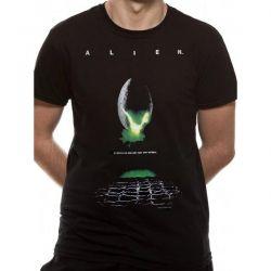ALIEN   POSTER T Shirt BLACK