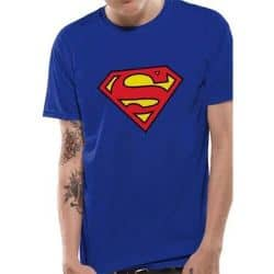 SUPERMAN - LOGO T-Shirt ROYAL BLUE