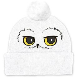BONNET POMPOM HARRY POTTER EDWIGE EYES