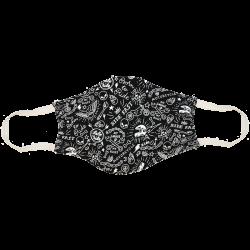Masque Rocker noir
