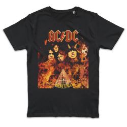 T shirt NOIR AC DC HIGHWAY TO HELL