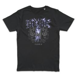T shirt NOIR AC DC PLUG IN