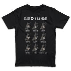 T shirt NOIR BATMAN THE...