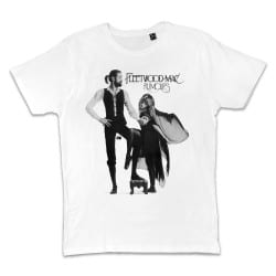 T shirt BLANC FLEETWOOD MAC...