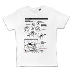 T shirt BLANC LOONEY TUNES...