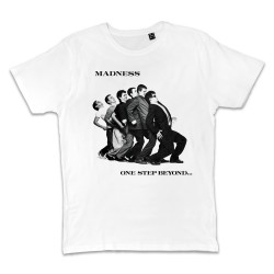 T shirt BLANC MADNESS  ONE...