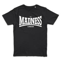 T shirt NOIR MADNESS  MADSDALE