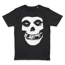 T shirt NOIR MISFITS SKULL