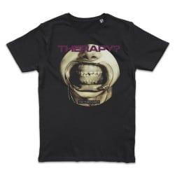 T shirt NOIR  THERAPY TEETH...