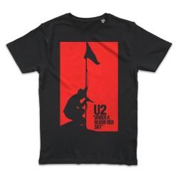 T shirt NOIR U2 UNDER A...