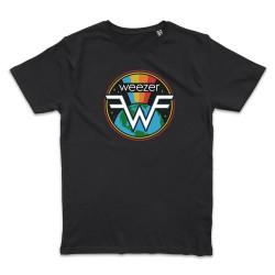 T shirt NOIR WEEZER SPACE...