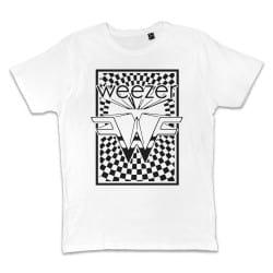 T shirt BLANC WEEZER ZOOM...