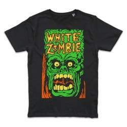 T shirt NOIR WHITE ZOMBIE...