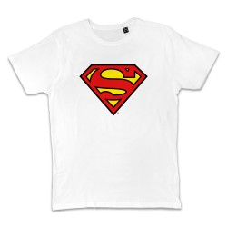 T shirt BLANC SUPERMAN...