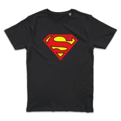 T shirt NOIR SUPERMAN...